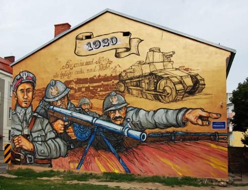 Cztery monumentalne murale w Łomży z farb marki Primacol