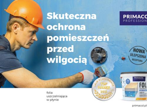 Folia w płynie i Folia w płynie X-Fibre Primacol Professional z Laurem Konsumenta